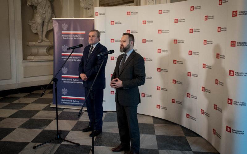 Archiwum Henryka Mikołaja Góreckiego przekazane Bibliotece Narodowej