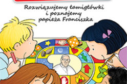 Ojcze Święty, zagrasz z nami? Rozwiązujemy łamigłówki i poznajemy papieża Franciszka