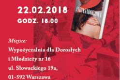 """Zaproszenie na spotkanie literackie poświęcone książce """"Ambasadorowa"""""""