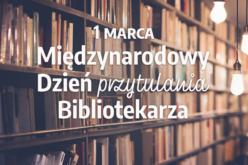 Promocja z okazji Międzynarodowego Dnia Przytulania Bibliotekarza