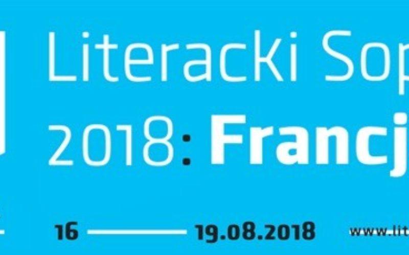 Literacki Sopot 2018 – najnowsze informacje
