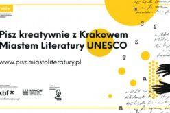 Pisz kreatywnie z Miastem Literatury UNESCO