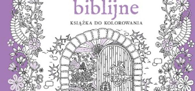 """Wersety biblijne. Książka do kolorowania"""" –  Wydawnictwo Świętego Wojciecha"""