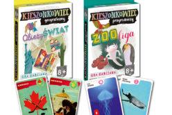 Kieszonkowce Zoo liga i Obieżyświat – nowości nie tylko dla uczniów!