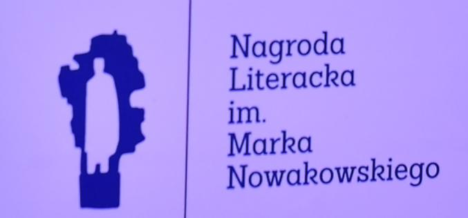 Zaproszenie na uroczystość ogłoszenia tegorocznego laureata Nagrody Literackiej im. Marka Nowakowskiego oraz wręczenia Nagrody