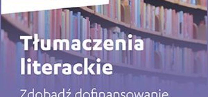 Tłumaczenia Literackie – zdobądź dofinansowanie do 100 000 EUR
