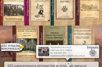 7 nowych reprintów harcerskich poleca Oficyna Impuls