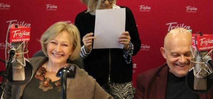 Barszczewska i Ferency czytają listy Szymborskiej i Herberta w radiowej Trójce