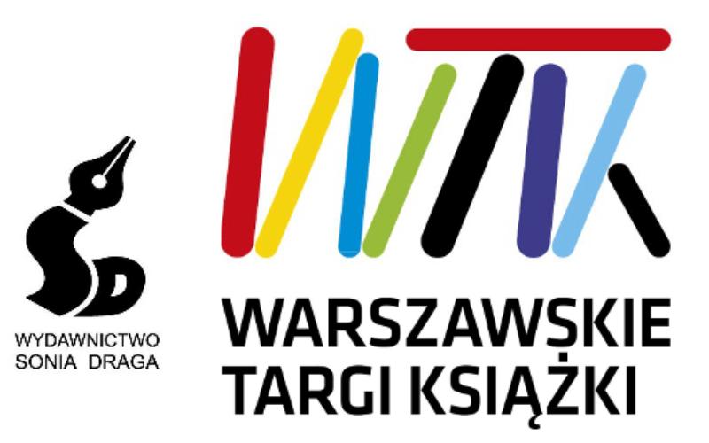 Sonia Draga zaprasza na spotkania podczas Warszawskich Targów Książki