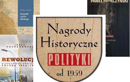 Laureaci Nagród Historycznych POLITYKI 2018