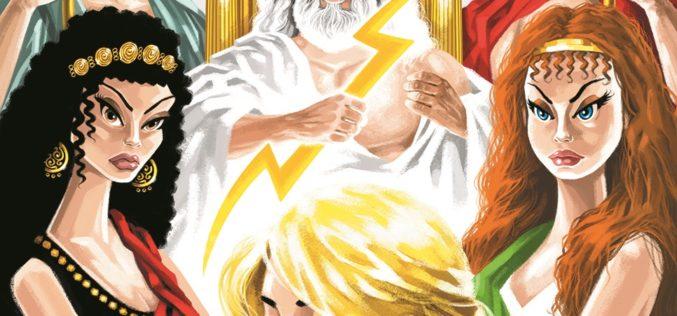 Bogowie i herosi. Ilustrowana mitologia grecka dla dzieci