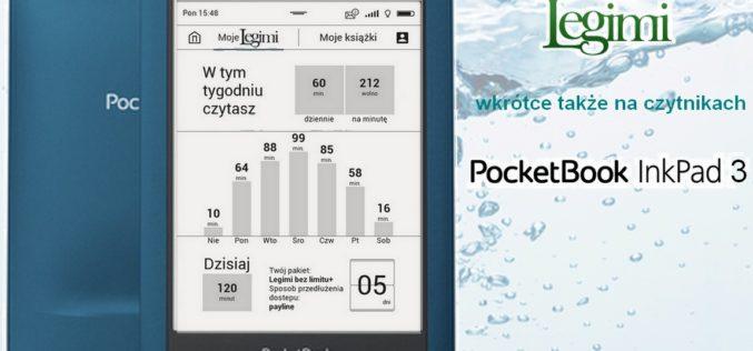 Kolejne czytniki PocketBook z aplikacją Legimi