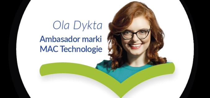 """Ola Dykta ambasadorem projektu """"@ktywni"""""""
