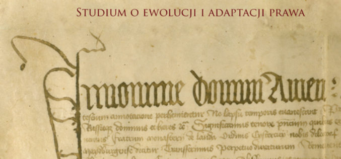 Prawo miejskie magdeburskie (Ius municipale Magdeburgense) w Polsce XIV-pocz. XVI w.