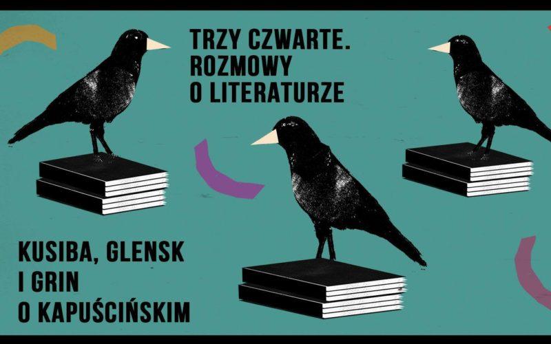 Klub Proza: Artur Szlosarek, Marek Kusiba i Urszula Glensk oraz koncerty i seanse filmowe