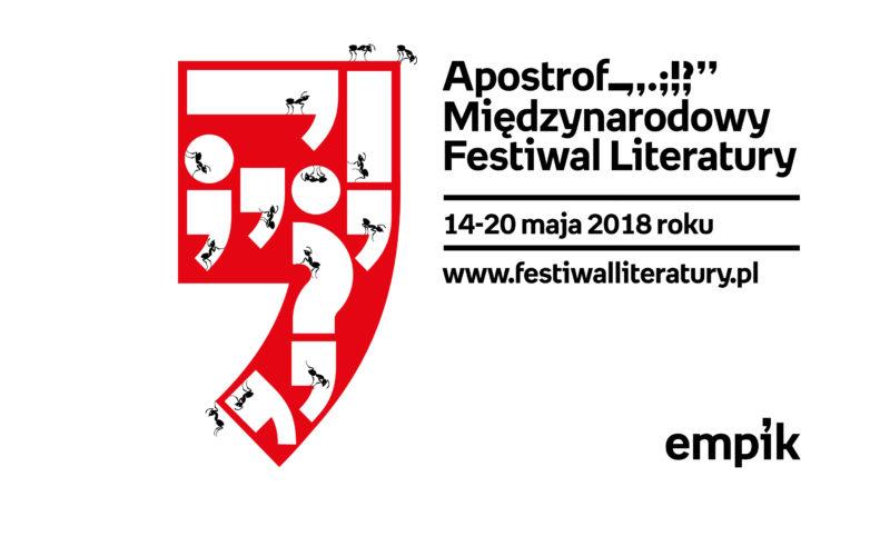 Trwa Apostrof. Międzynarodowy Festiwal Literatury