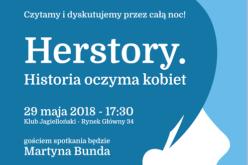 Noc Książki. Herstory. Historia oczyma kobiet