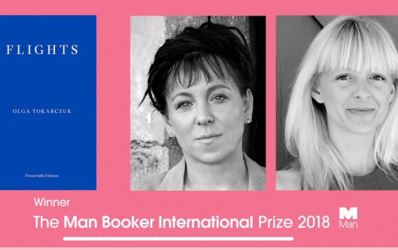 The Man Booker International Prize dla Olgi Tokarczuk