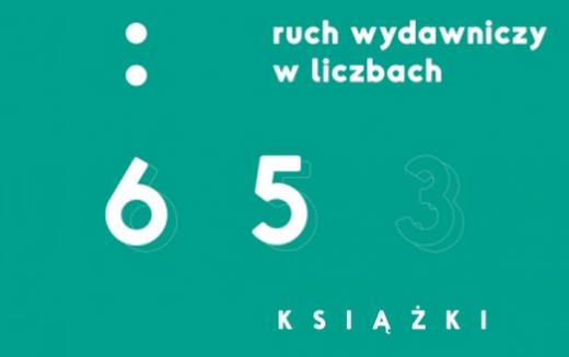 Rok 2017 pobity został kolejny rekord liczby opublikowanych w Polsce tytułów książek! Raport: Ruch wydawniczy w liczbach. Tom 65. Książki