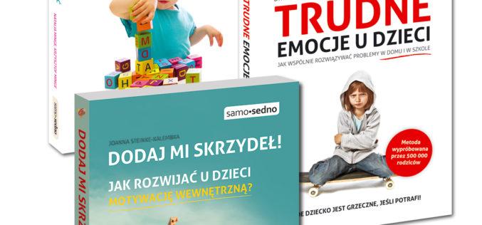 Poradniki z serii Samo Sedno o wychowaniu dzieci