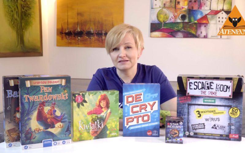 Najlepsze produkty na lato 2018 (część 2: gry planszowe)