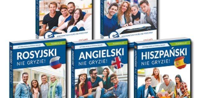 Bestsellerowa seria Nie gryzie! od wydawnictwa Edgard: najlepszy sposób na naukę języka