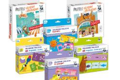 Kapitan Nauka poleca na wakacje:  nowe puzzle dla maluchów i przedszkolaków