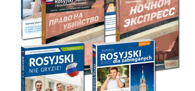 Rosyjski z wydawnictwem Edgard: innowacyjne kursy do samodzielnej nauki