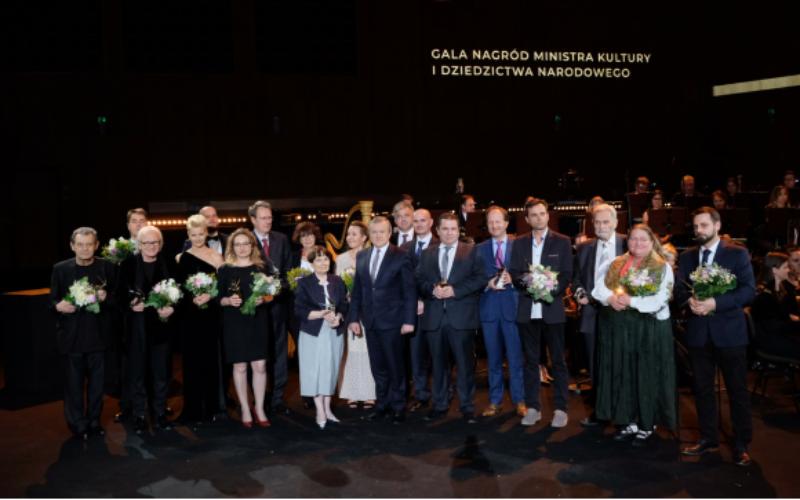 Doroczne Nagrody Ministra Kultury   i Dziedzictwa Narodowego wręczone!