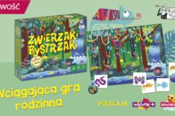 Gra edukacyjna Zwierzaki bystrzaki – nowość od Kapitana Nauki