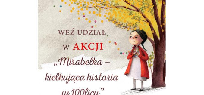 """""""Mirabelka – kiełkująca historia 100licy"""" – akcja dla bibliotek"""