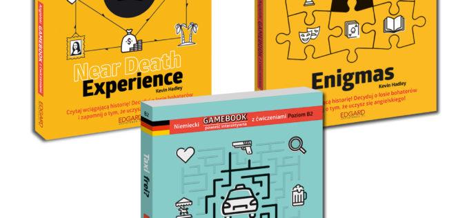 Bestseller wydawnictwa Edgard: gamebooki do nauki języków
