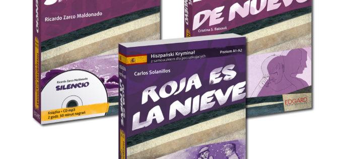 Hiszpańskie kryminały z ćwiczeniami od wydawnictwa Edgard