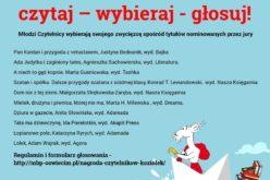 Nagroda Czytelników 25. Ogólnopolskiej Nagrody Literackiej im. Kornela Makuszyńskiego