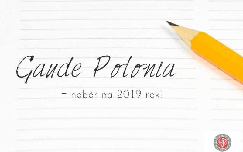Ruszył nabór do programu Ministra Kultury i Dziedzictwa Narodowego Gaude Polonia na 2019 rok