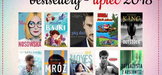 Bestsellery lipca 2018 w TaniaKsiazka.pl