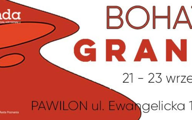 Dzisiaj rozpoczyna się Poznański Festiwal Kryminału GRANDA