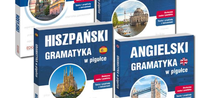Gramatyki w pigułce. Nowe wydanie od wydawnictwa Edgard