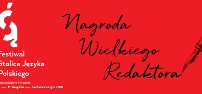 Nagroda Wielkiego Redaktora dla Marianny Sokołowskiej