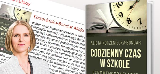 Codzienny czas w szkole – premiera w krakowskiej Oficynie Wydawniczej Impuls