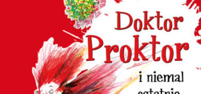 """""""Doktor Proktor i niemal ostatnie święta"""" – Jo Nesbø"""