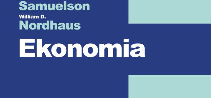 """William Nordhaus, autor wydanej przez REBIS """"Ekonomii"""", laureatem Nagrody Nobla w dziedzinie ekonomii"""