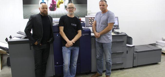 """""""Zamów rano, odbierz po południu"""" – maszyna Konica Minolta AccurioPress C6085  w drukarni Vipro"""