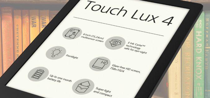 Aplikacja Legimi dla PocketBook Touch Lux 4