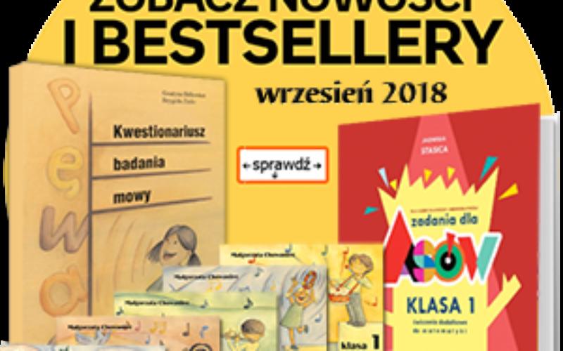 """Bestsellery Oficyny """"Impuls"""" najlepsza 10tka za wrzesień br."""