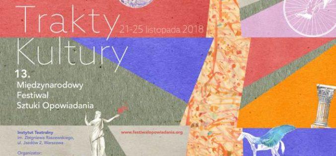 13. Międzynarodowy Festiwal Sztuki Opowiadania 2018