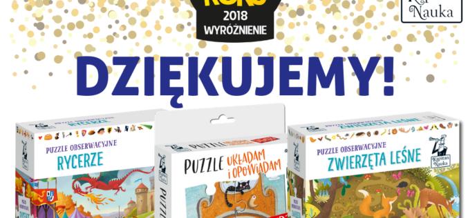 Kapitan Nauka wyróżniony na gali Zabawka Roku 2018!