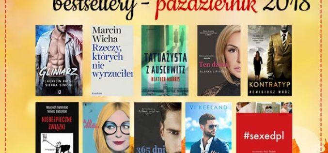 Bestsellery października 2018 w TaniaKsiazka.pl