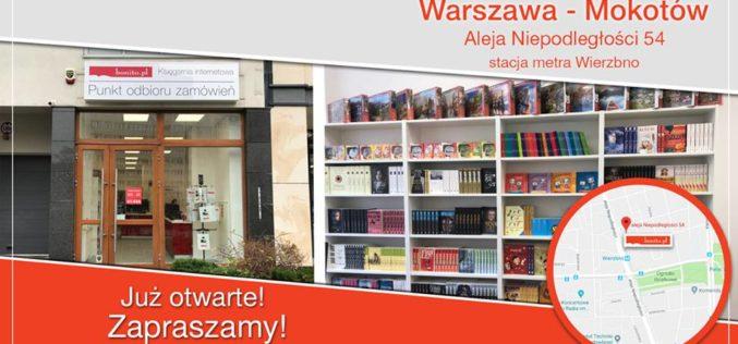 Księgarnia Bonito.pl otworzyła w Warszawie kolejny punkt odbioru zamówień