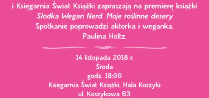 Zaproszenie na spotkanie autorskie z Alicją Rokicką